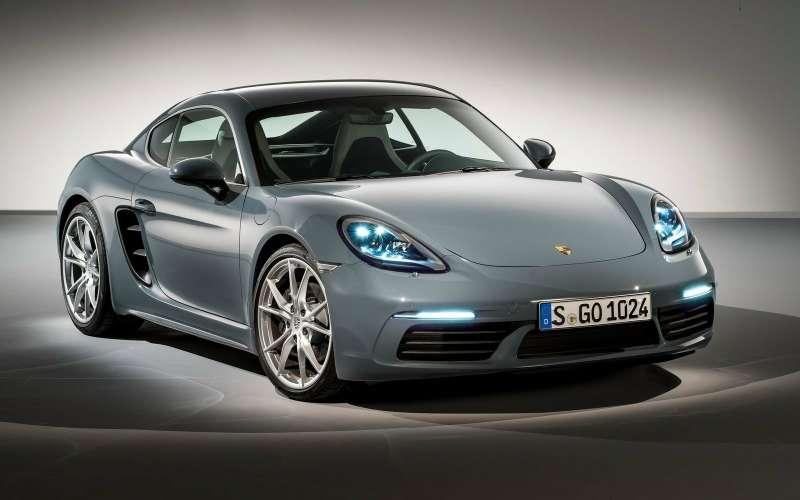 Porsche снизила цену имощность моделей Cayman иBoxster
