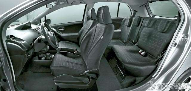 Toyota Yaris. Ключи отгорода— фото 61814
