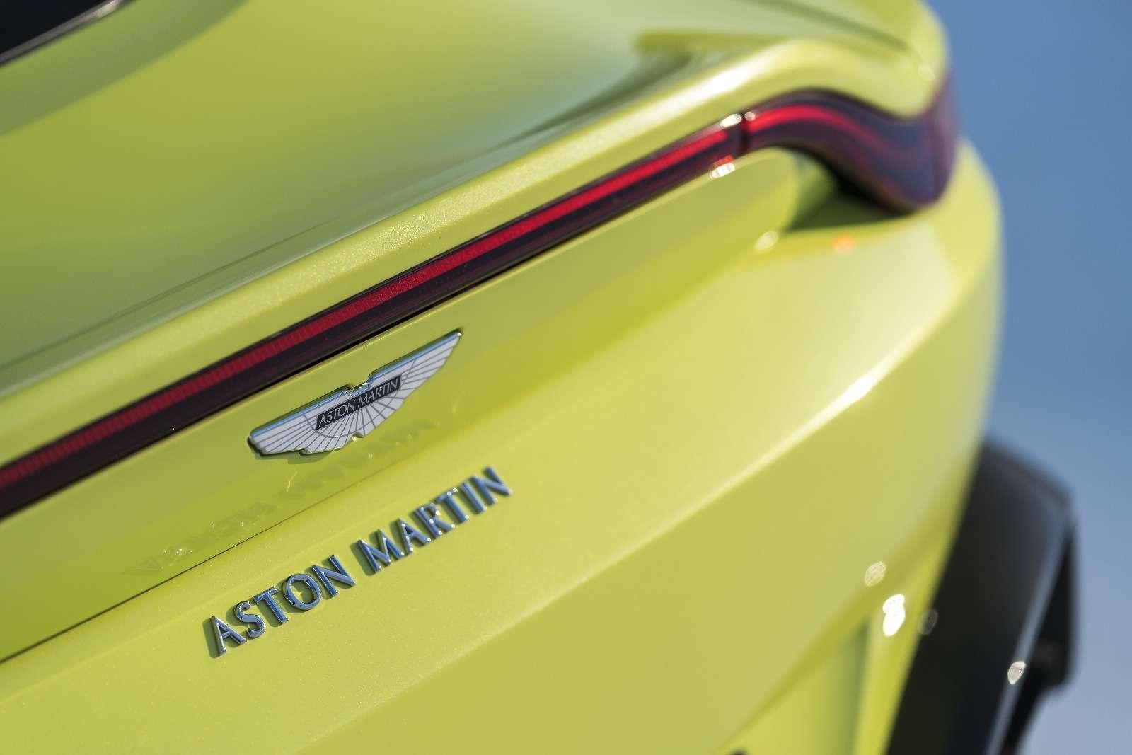 Проверено Джеймсом Бондом: представлен новый Aston Martin Vantage— фото 818850