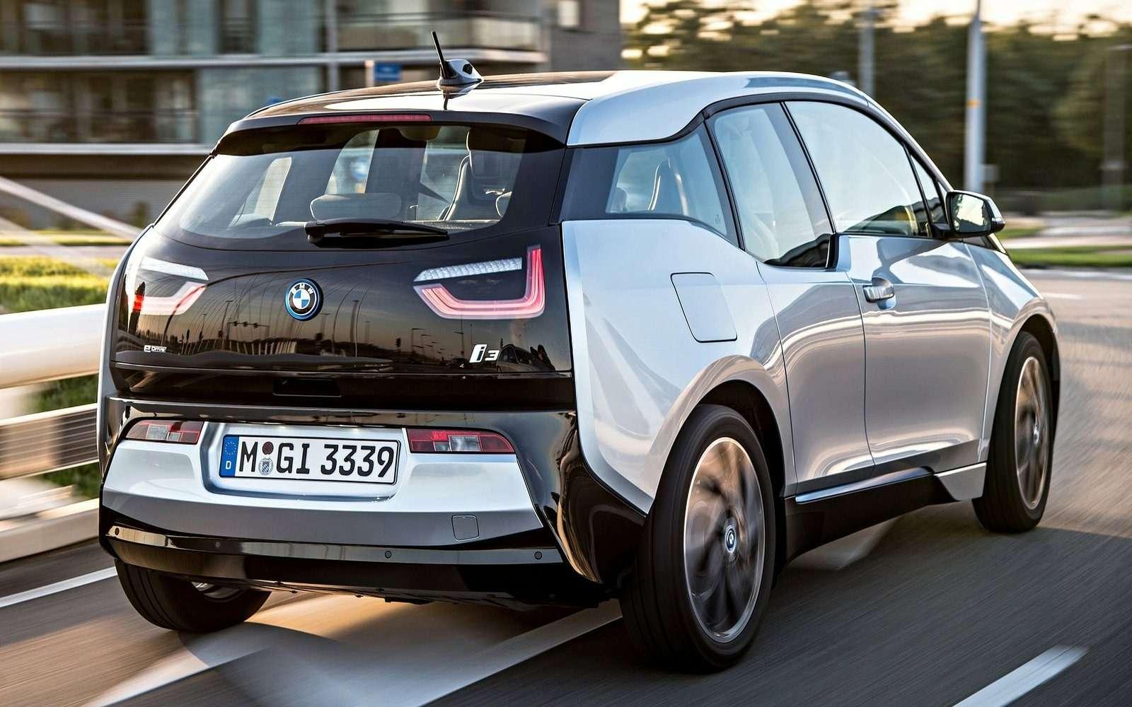 Электромобиль BMW i3приехал вРоссию подвидом гибрида— фото 694251