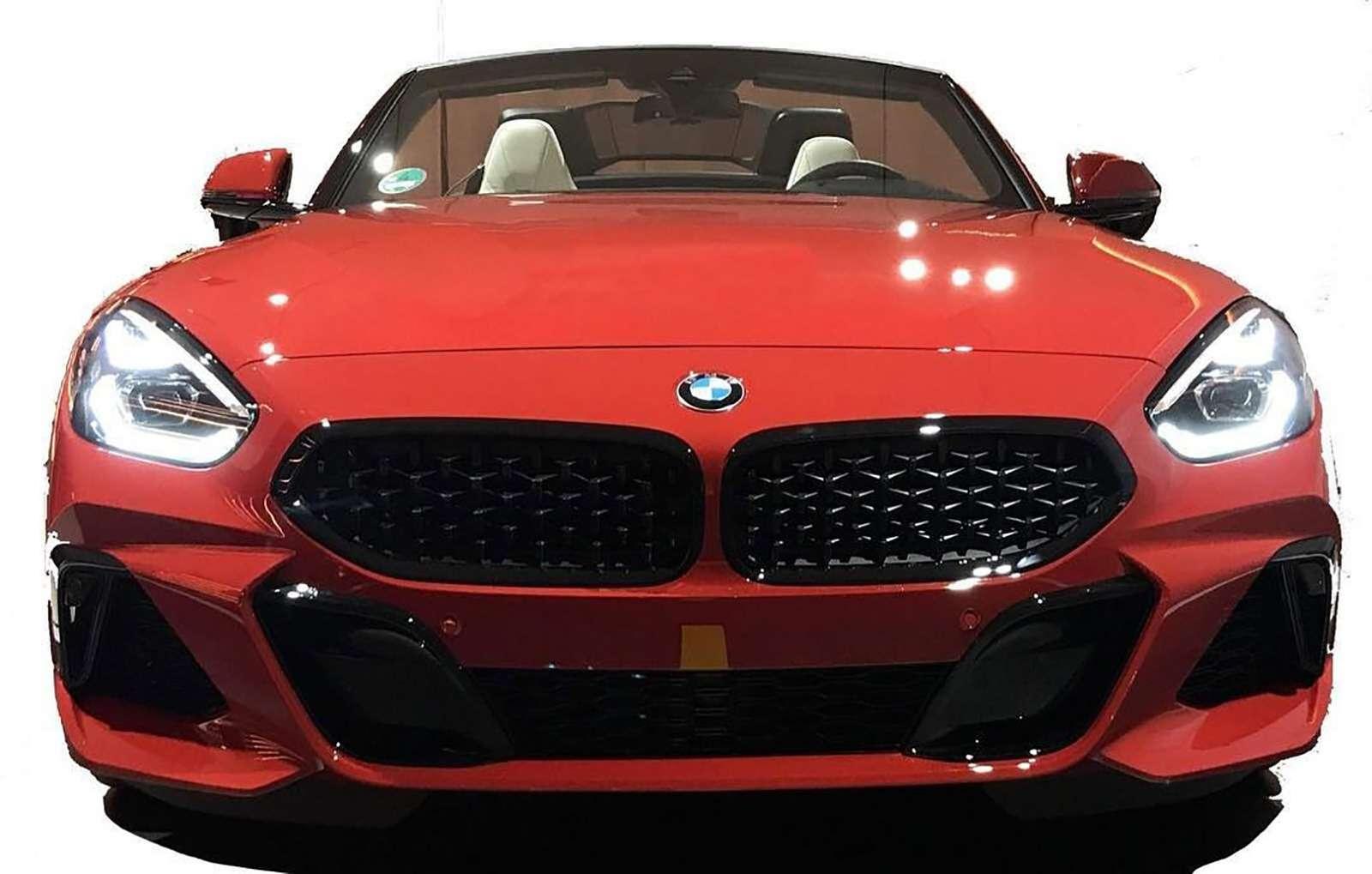 Возрожденный родстер BMW Z4: первые фото серийной версии— фото 895444