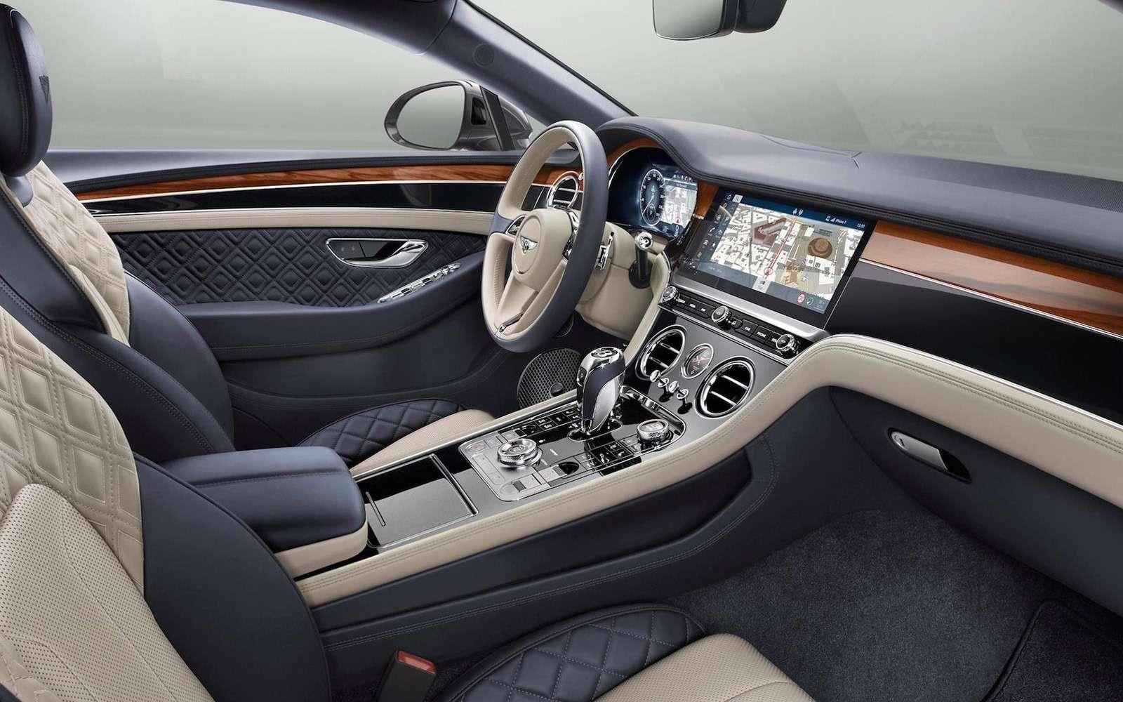 Новый Bentley Continental GT: двухдверная Panamera по-британски— фото 789201