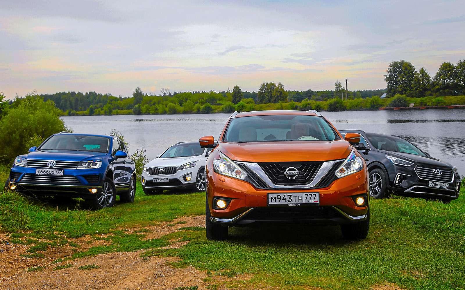 Новый Nissan Murano против конкурентов: длинные рубли— фото 691740