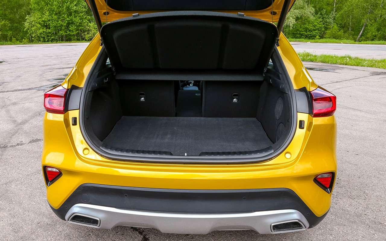 Новый Kia XCeed: сравнили две версии «почти кроссовера»— фото 1143624