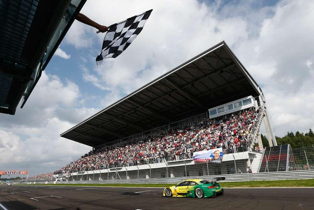 Motorsports/ DTM: german touring cars championship 2013, 6.race atMoskau Raceway