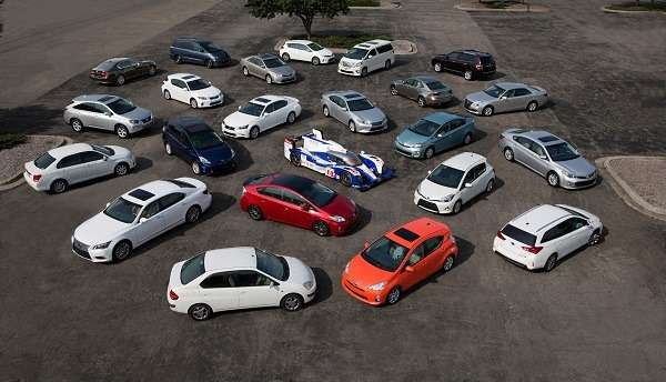 nocopyright Toyota Hybrid Tour