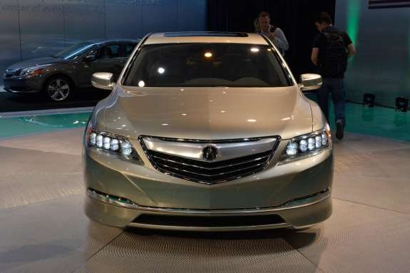 Acura RLX Concept front view