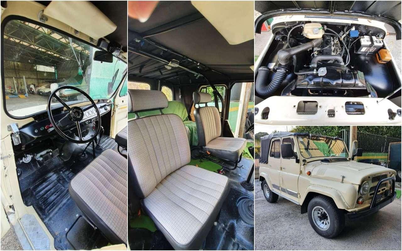 Продают редкий УАЗ-469— сдизельным мотором— фото 1246270