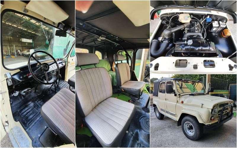 Продают редкий УАЗ-469— сдизельным мотором