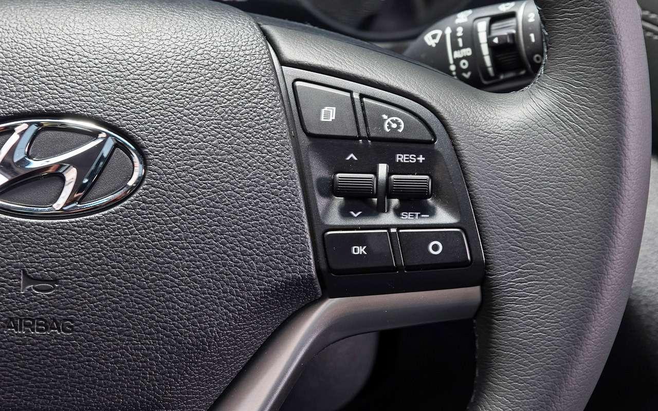 Тест-драйв обновленного Hyundai Tucson: новый автомат, цены прежние (нупочти)— фото 905729