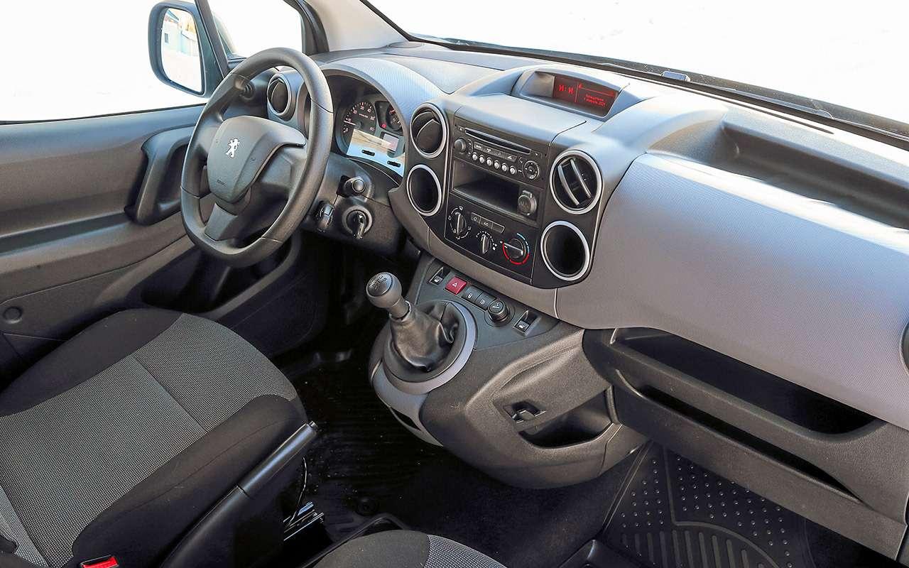 Peugeot Partner изКалуги: рассмотрели совсех сторон!— фото 1231046