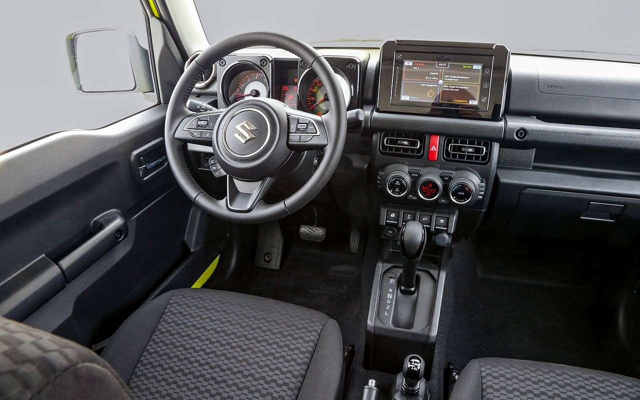 Новый Suzuki Jimny: первый тест-драйв ивидео— фото 998207