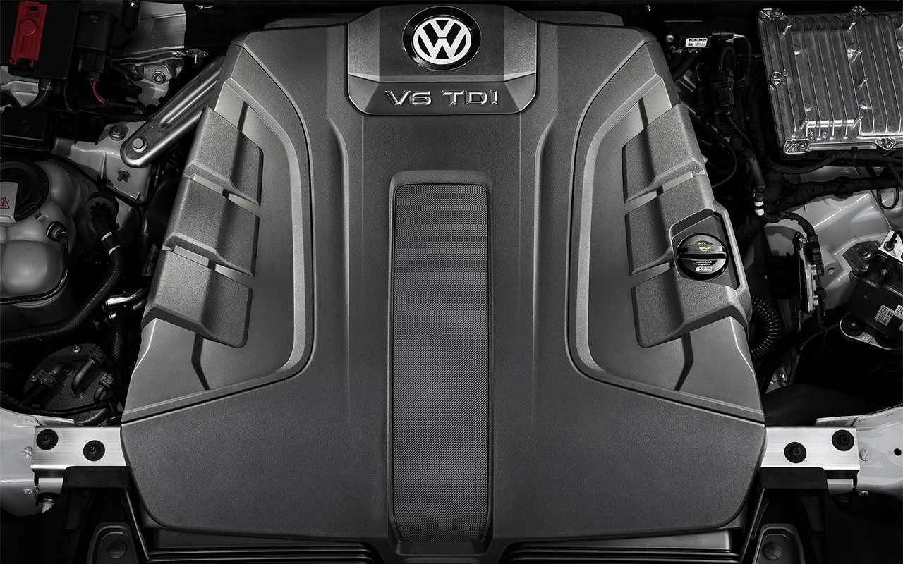Тест-драйв нового Volkswagen Touareg: хочется большего— фото 871640
