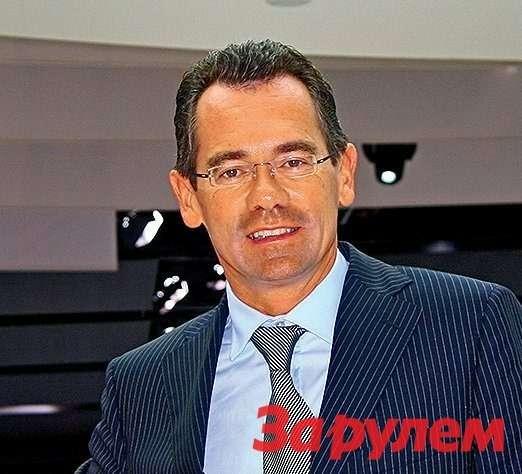 Жан-Марк Галес, генеральный директор группы ПСА («Пежо-Ситроен»).