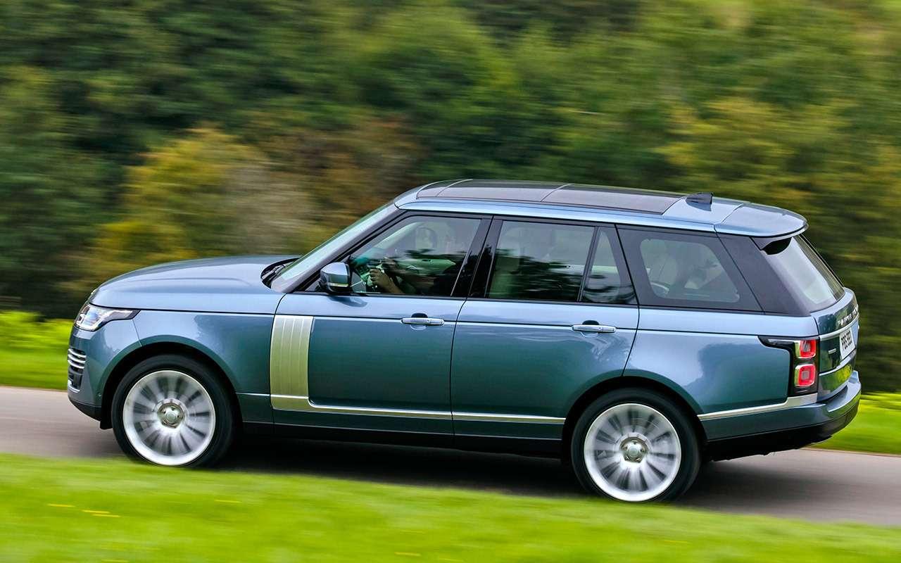 Range Rover 2018: 2,8л топлива насотню?! Быть того неможет!— фото 820985