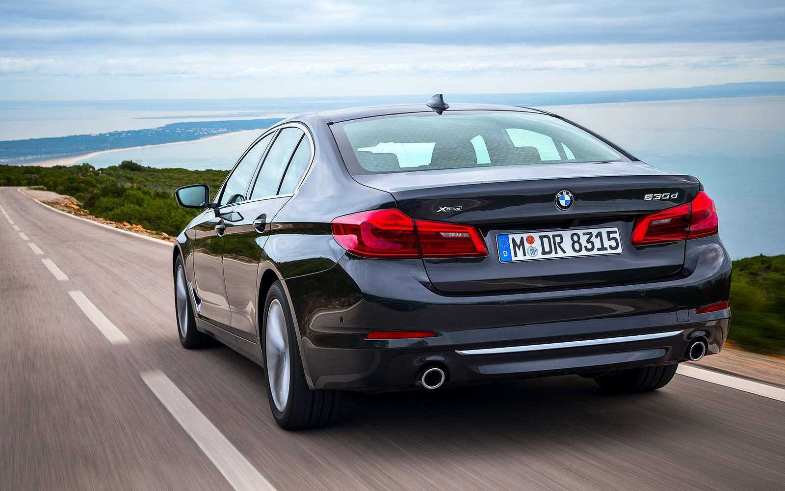 Тест новой «пятерки» BMW: большой брат— фото 685111
