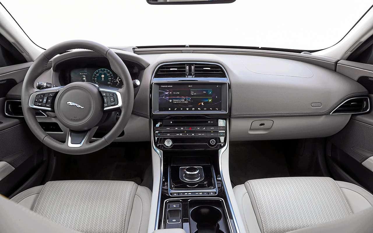 Genesis G70 против Audi A4и Jaguar XE— большой тест— фото 894700