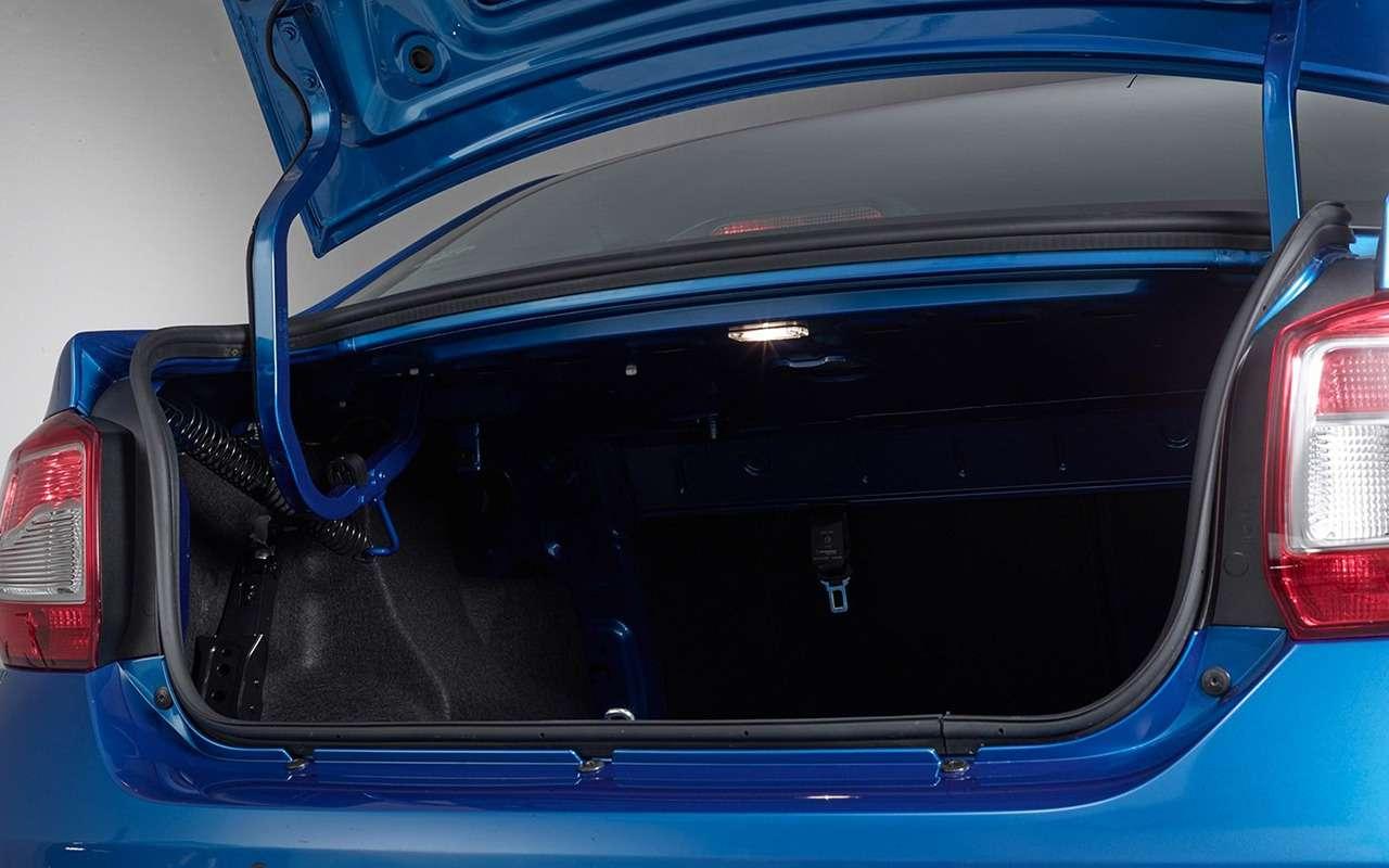 Lada Vesta Cross или Renault Logan Stepway— что выбрать?— фото 918565