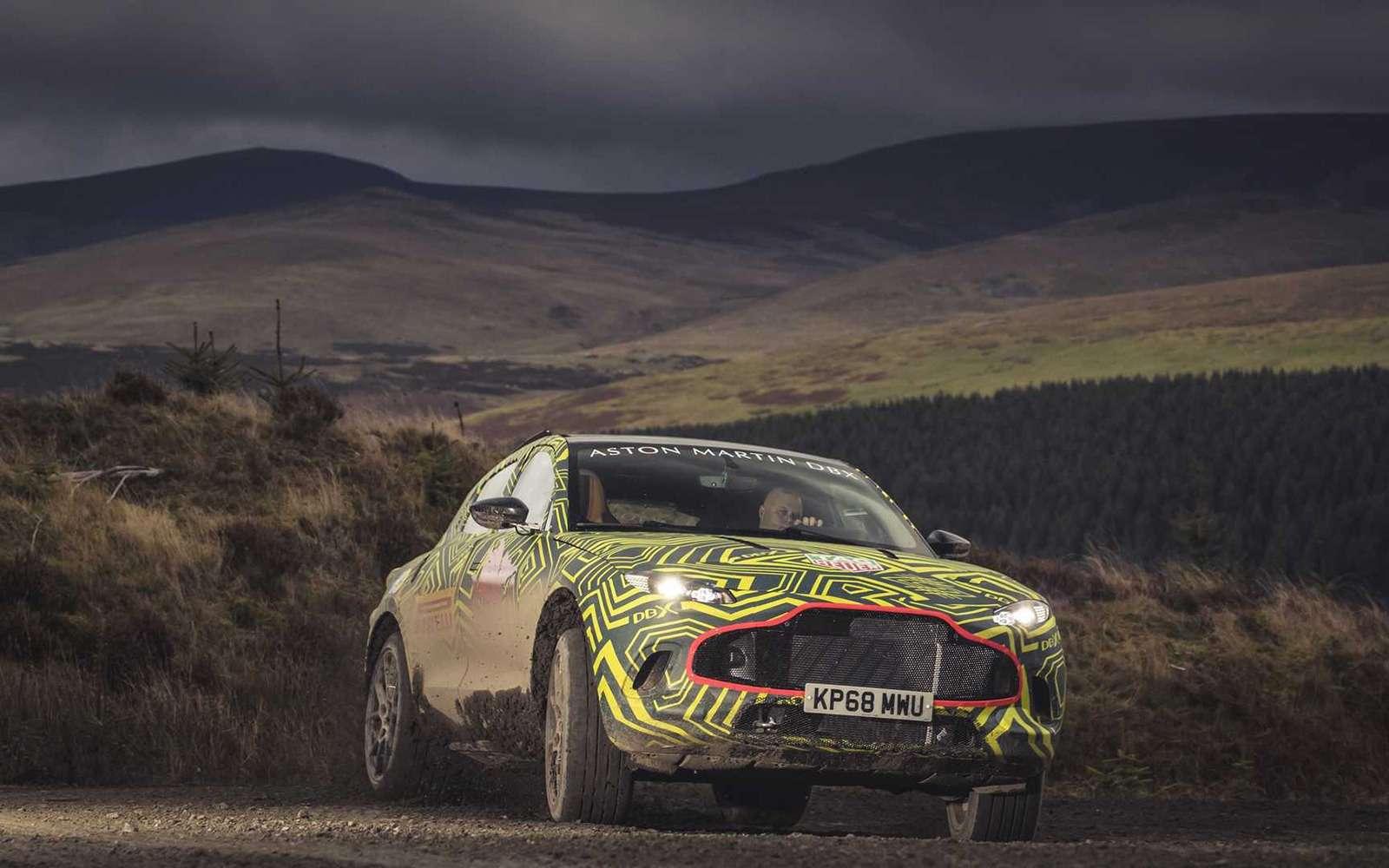 Aston Martin показал свой кроссовер нафото ивидео— фото 922759