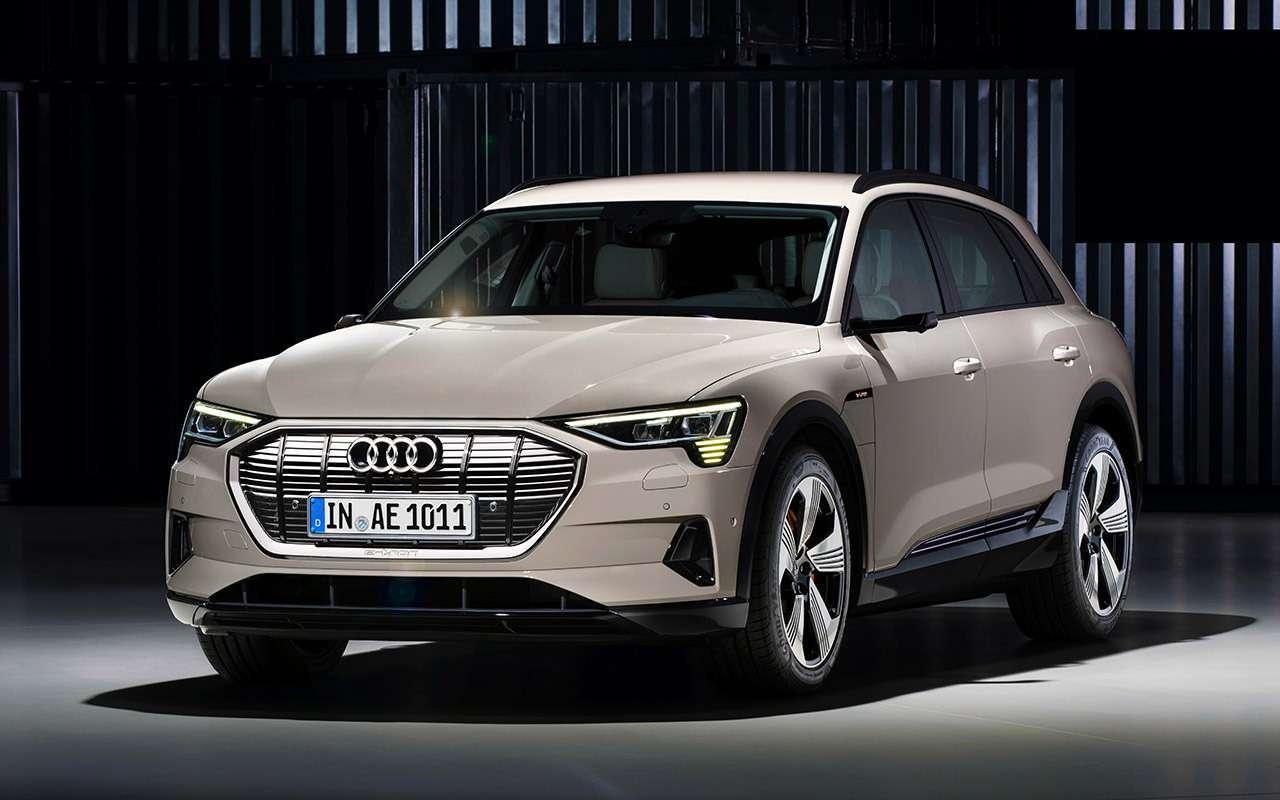 Первый электрокроссовер Audi: его будут продавать унас— фото 908784
