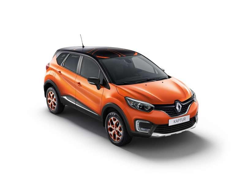 Renault предлагает владельцам приукрасить свой Kaptur