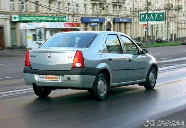 Renault Logan: МОСКОВСКИЙ ХИТ— фото 65924