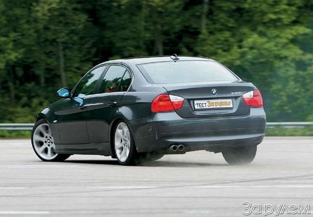 BMW330i. Асвиду— обычный седан— фото 57729