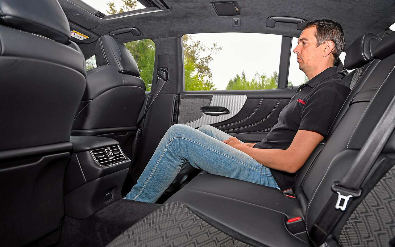 Большой тест престижных седанов: новый Lexus LS500и конкуренты— фото 928764