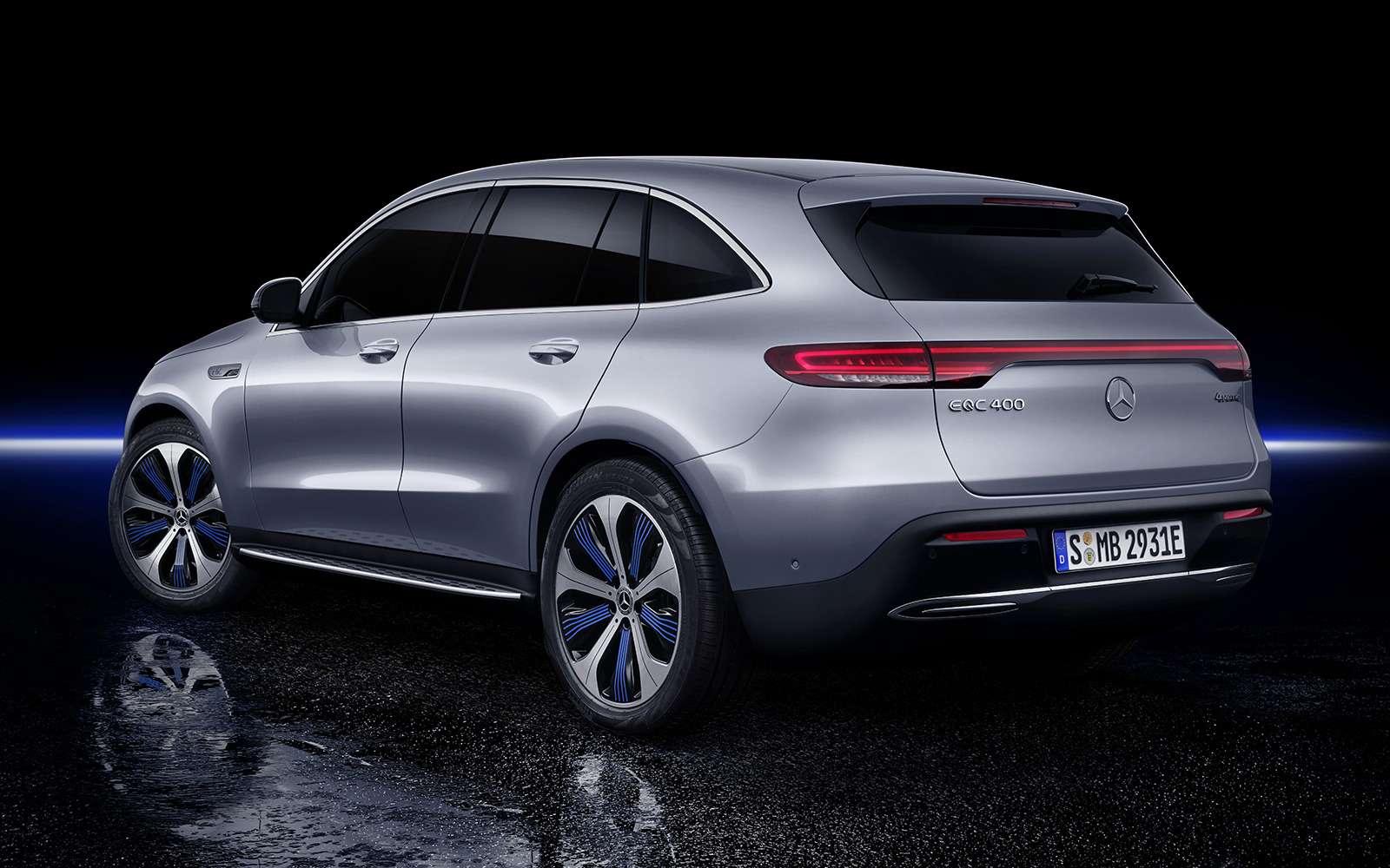 Электрический Mercedes-Benz EQC: два мотора и450 километров назарядке— фото 902232