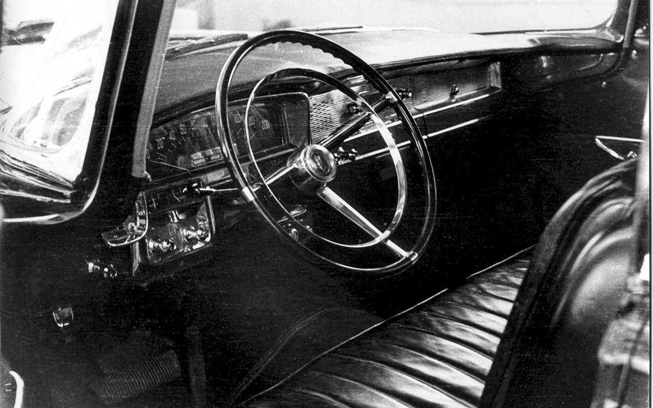 Лимузин партийной элиты— как делали главный автомобиль страны ЗИЛ-111— фото 985811