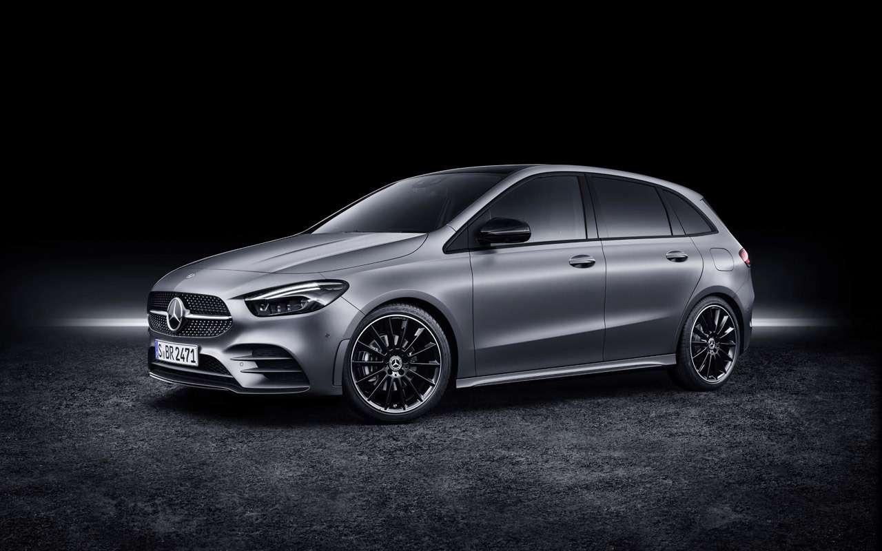 Новый Mercedes-Benz B-класса: онполучил опции отроскошного S-класса— фото 910426