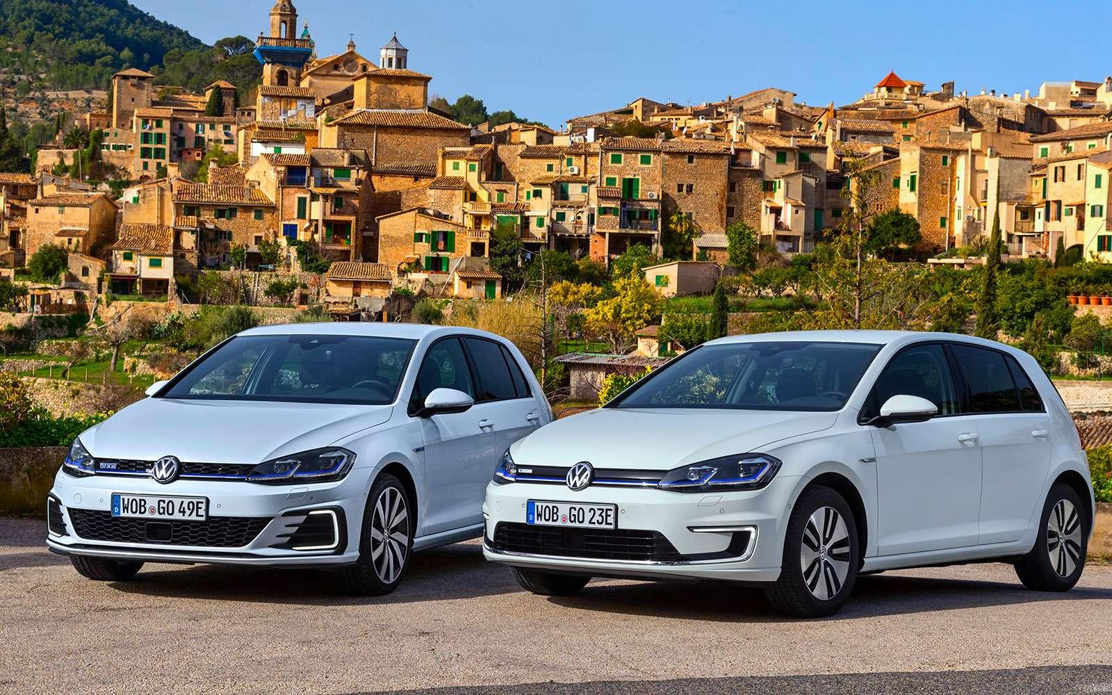 Volkswagen Golf — сравниваем новые версии— фото 755761