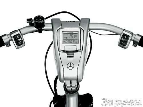 «мерседес» изобрел…  велосипед— фото 56105