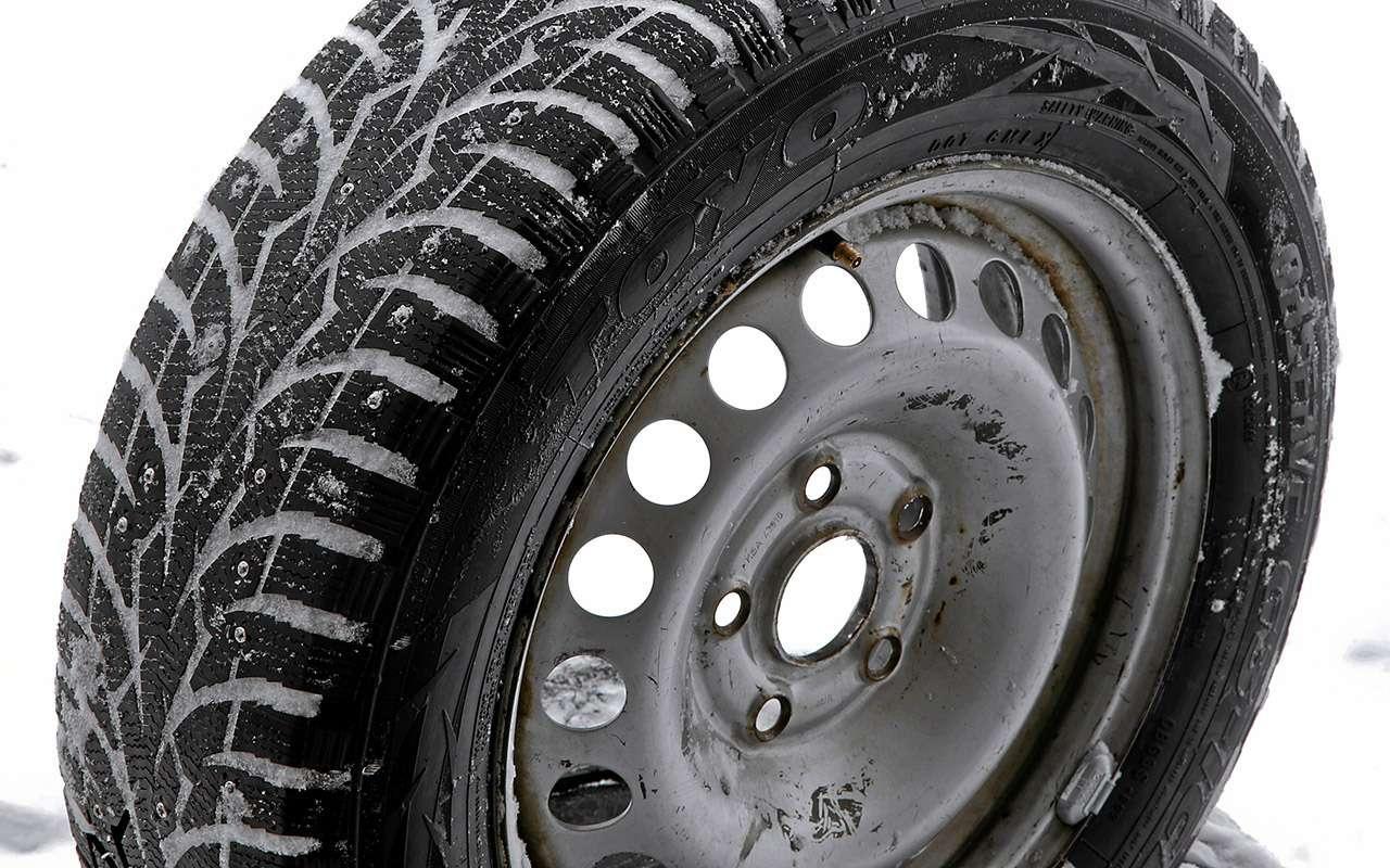Шипованные шины 185/65R15для бюджетных автомобилей— тест «Зарулем»— фото 794355