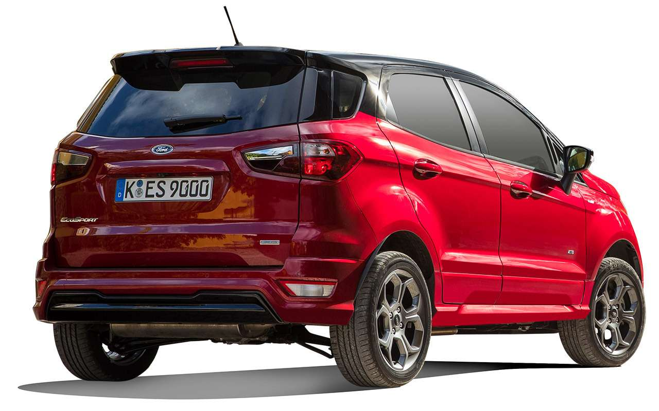 Обновленный Ford EcoSport— тест-драйв «Зарулем»— фото 838844