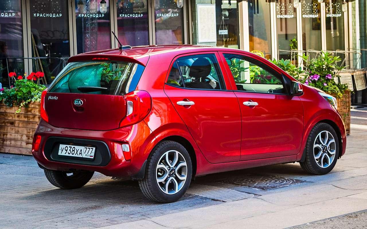 Большой тест маленьких хэтчбеков: Kia Picanto, Datsun mi-DO иSmart ForFour— фото 796007