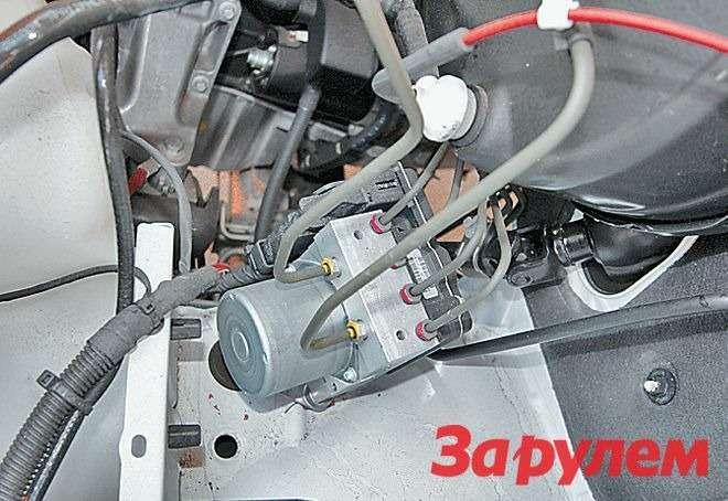 Помимо ABS, модель оснащена идругими системами безопасности