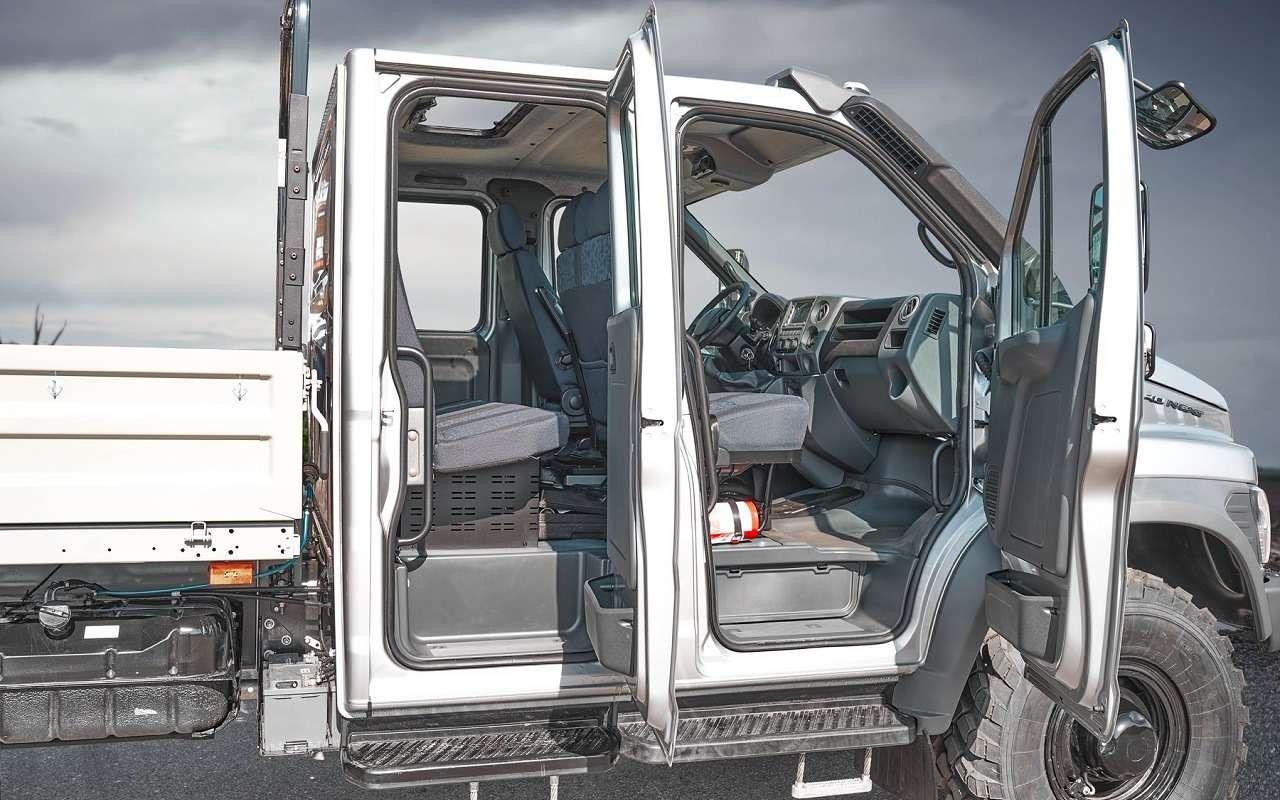 Удлиненный Садко Next ссемиместной кабиной поступил впродажу— фото 1122863
