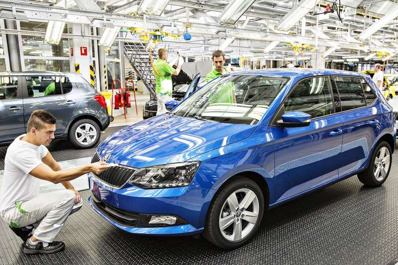 140828 New SKODA Fabia — Start of Production 002