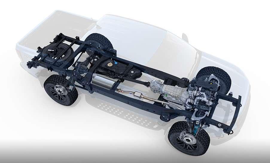 Длядорог инаправлений: представлен экстремальный Ford Ranger Raptor— фото 843213