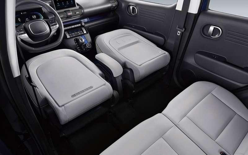 Кроссовер Hyundai Casper— первые фото салона