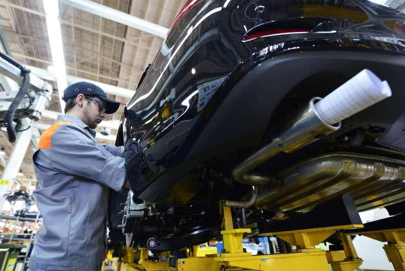 """Ñáîðêà îáíîâëåííûõ àâòîìîáèëåé Mazda CX-5è Mazda6íà çàâîäå """"Mazda Ñîëëåðñ Ìàíóôýê÷óðèíã Ðóñ"""" âîÂëàäèâîñòîêå"""
