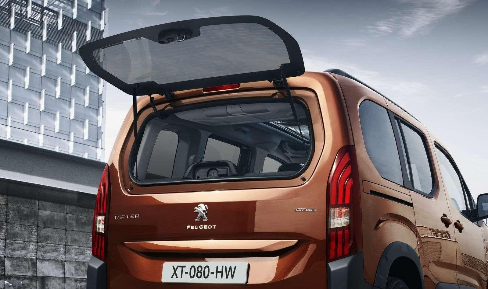 Больше Партнера: представлен внедорожный «каблучок» Peugeot Rifter— фото 847163