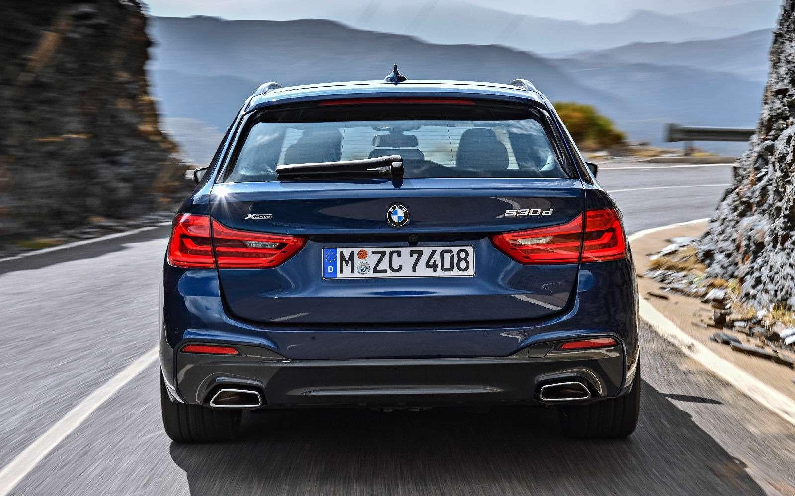 Новая «пятерка» BMW— теперь искузовом универсал— фото 701194