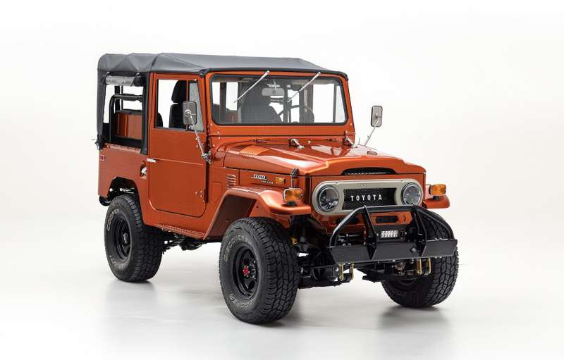 Жители Америки восстановили Тоёта Land Cruiser FJ40