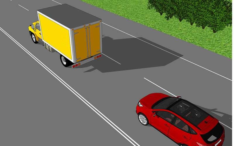 Тест нанервы: как обогнать чертов грузовик?!
