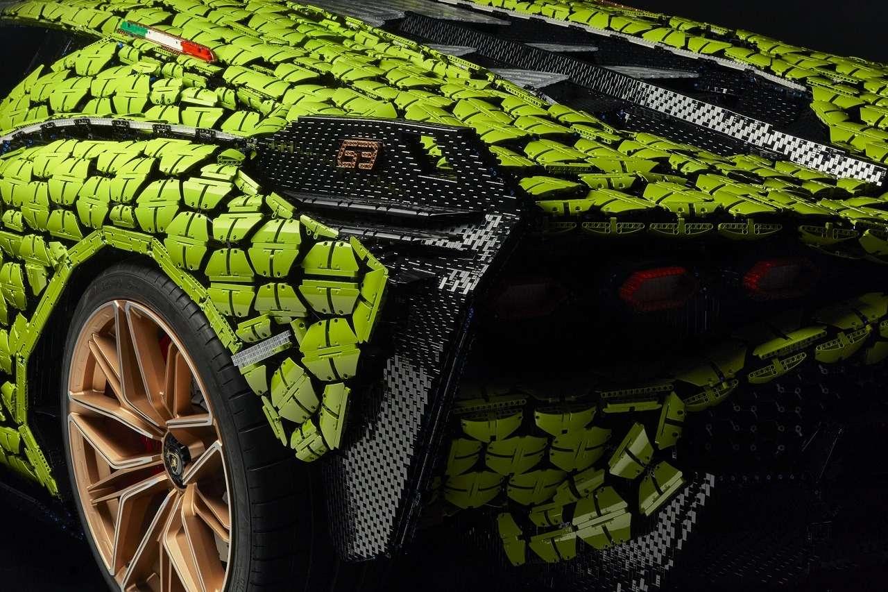 В Lamborghini построили гиперкар изконструктора Lego— фото 1252610