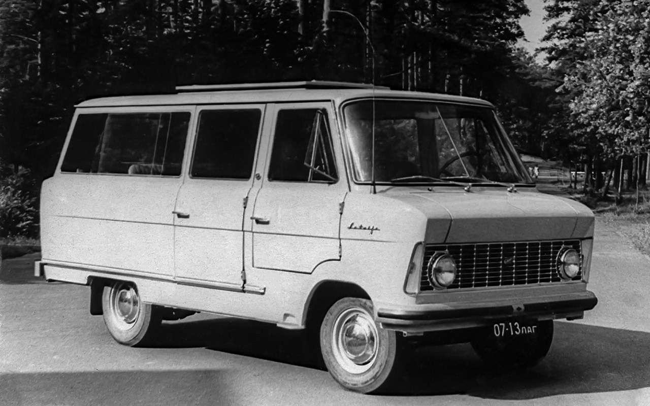 Тотсамый «рафик»: полная история главного микроавтобуса СССР— фото 1218800