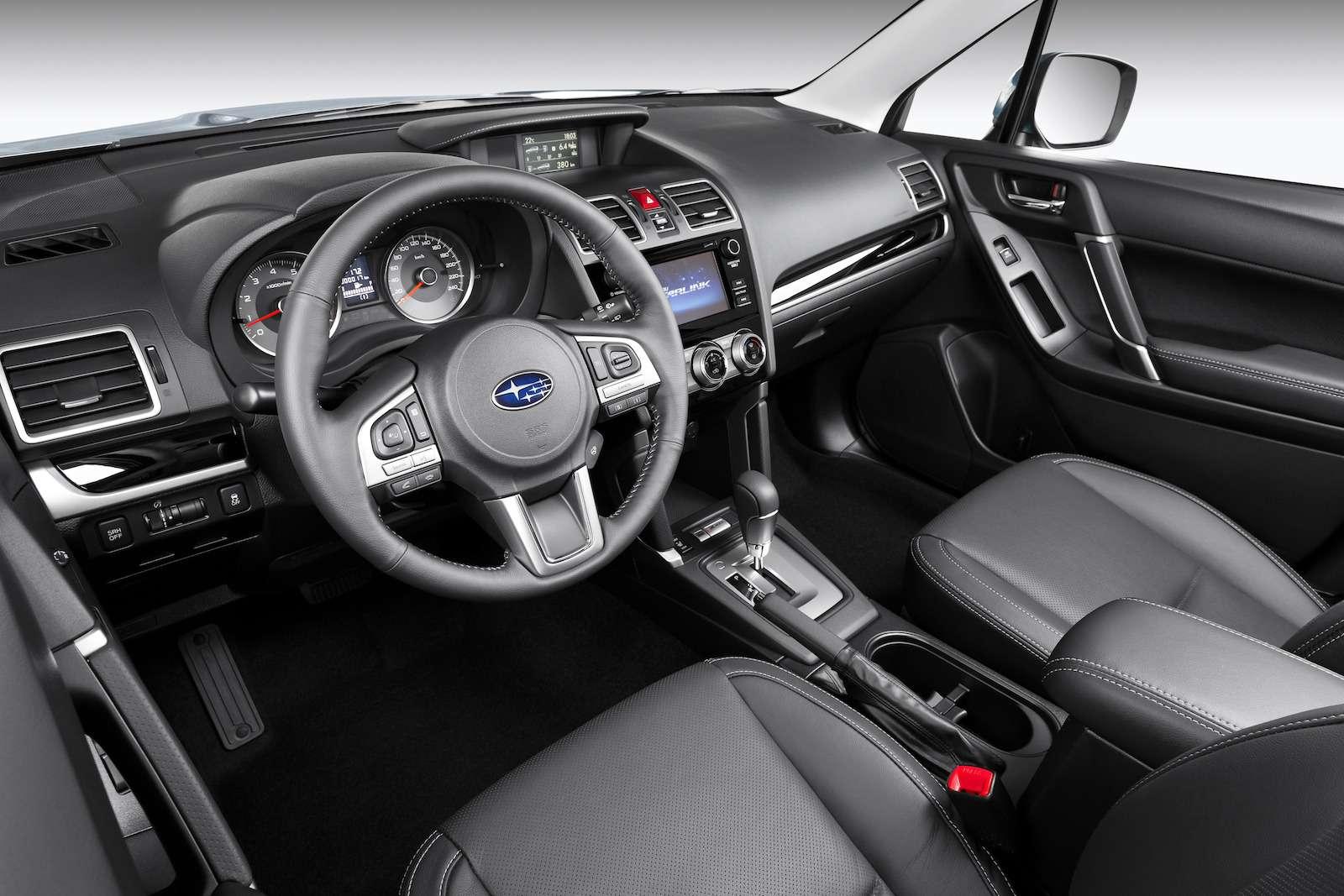 Обновленный  Subaru Forester: тише едешь...— фото 594330