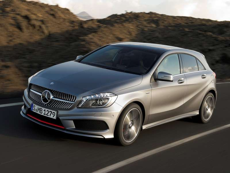 Компакт класс   Mercedes Benz A Klasse no copyright